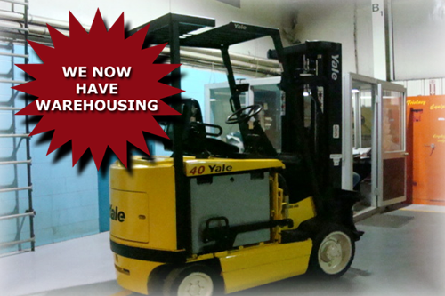 We Now Have Warehousing